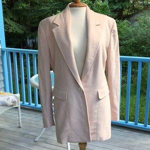 Gorgeous vintage Donna Karan blazer 100% cashmere